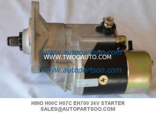 Brand New EH700 Starter Motor For Hino FD FF Early HO6C HO7C 24V