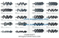 China CRANKSHAFT MITSUBISHI 4D35 CRANKSHAFT FOR SALE- MITSUBISHI 4D35 Cigüeñal factory