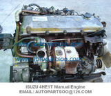 Used ISUZU 4HE1T Engine assy, Usada ISUZU 4HE1T Motor 4HE1 TURBO DIESEL ENGINE