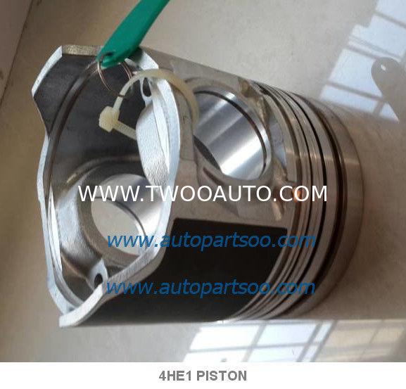 ISUZU Diesel 4HE1 4HE1T 4HE1TC PISTON Engine Parts 8-94391-6961