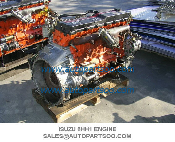 Genuine ISUZU 6HH1 ENGINE ASSEMBLY, DIESEL ENGINE ASSY MOTOR