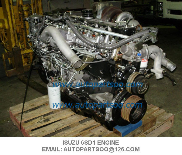 Isuzu 6sd1 engine assy used engine , motor de isuzu 6sd1