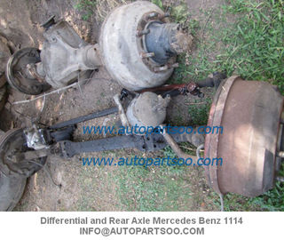 China Differential and Rear Axle Mercedes Benz 1114 Diferencial y Eje delantero Mercedes Benz 11 distributor