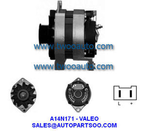 China 6025007592 A14N142 A14N171 NA399 - VALEO Alternator 12V 90A Alternadores distributor