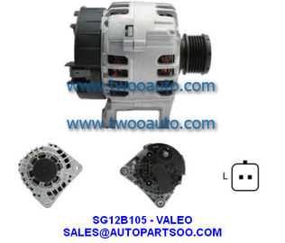 China 6001548553 440265 SG12B089 SG12B105 - VALEO Alternator 12V 125A Alternadores distributor