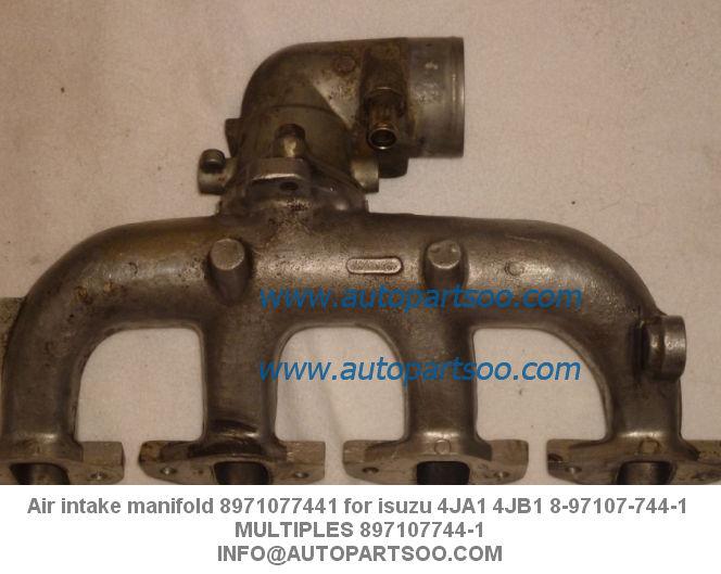 Air intake manifold for isuzu ja jb