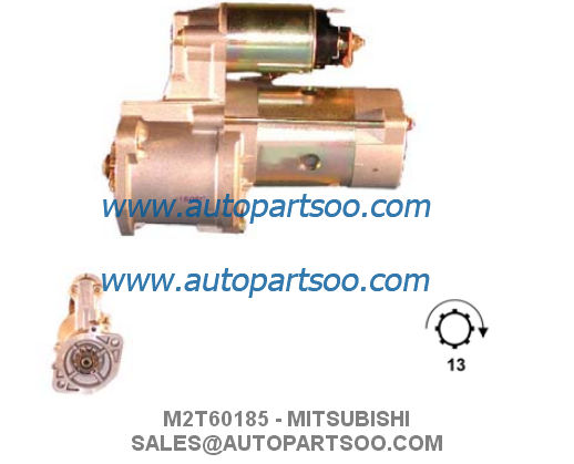 M3T35081 M3T35082 - MITSUBISHI Starter Motor 12V 0.8KW 8T MOTORES DE ARRANQUE