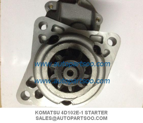 Brand New J08C Starter Motor For Hino FD JO8C 2Bolt 24V