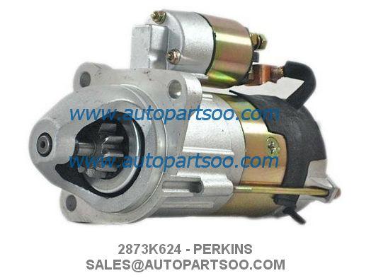 2873K624 2873K625 - PERKINS Starter Motor 12V 3.0KW 10T AZE4173 11.131.781 225-3149