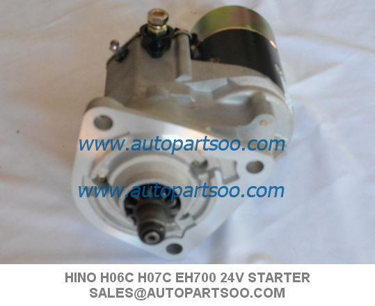 Brand New 4HF1 Starter Motor For Isuzu NPR NQR 4HF1 24V