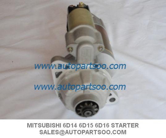 Brand New Mitsubishi Starter Motor For Mitsubishi 6D14 6D15 6D16