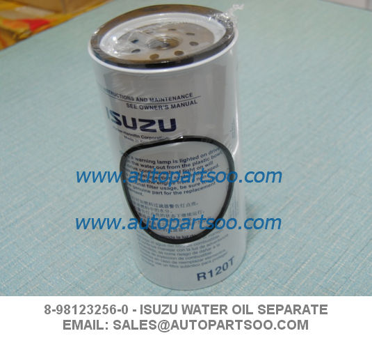 Oil Water Separator ISUZU Fuel Cartridge Kit (8-98123256-0)