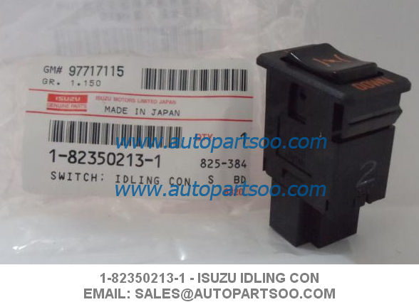 Idling Control Electric Switch IDLING CON 1-82350213-1