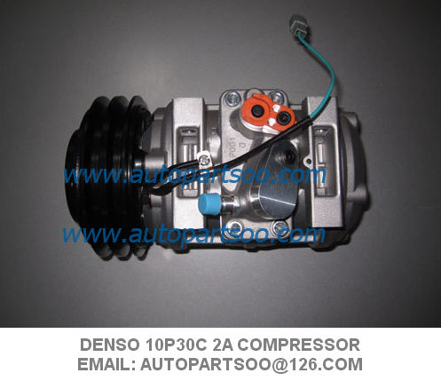 DENSO 10P30C 2A 24,12V 447220-0390 Air Conditioning Compressor Coaster