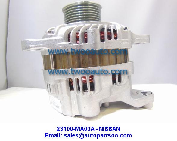 23100-MA00A A003TG5381 - Nissan Alternator 12V 90A Alternadores Urvan E25 QR25DE