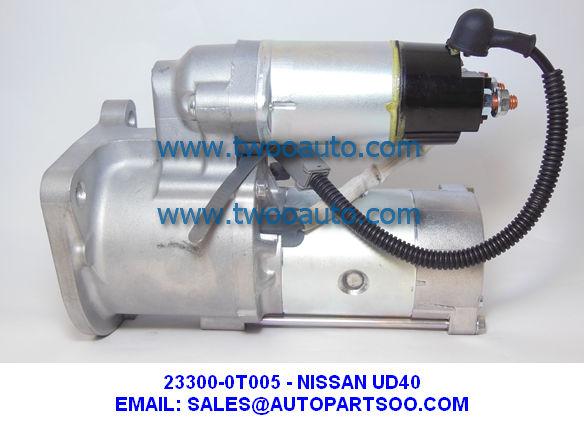 23300-0T005 M002T78681 - NISSAN UD40 FD35 Starter Motor 24V 5.0KW 11T