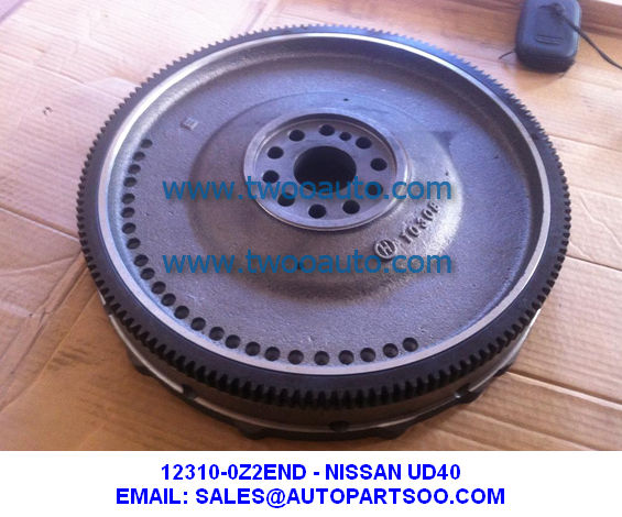12310-0Z2END NISSAN UD40 FD35 Flywheel 123100Z2END Bolantes Del FE35 Volantes NISSAN