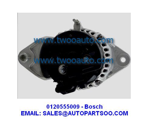 0120555009 - Bosch Alternator 24V 80A (Pulley:8S) 0 120 555 009