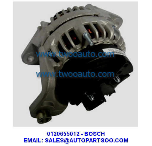 0120655012 - Bosch Alternator 24V 110A (Pulley 8S) 0 120 655 012