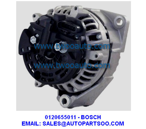 0120655001 - Bosch Alternator 24V 100A 0 120 655 001