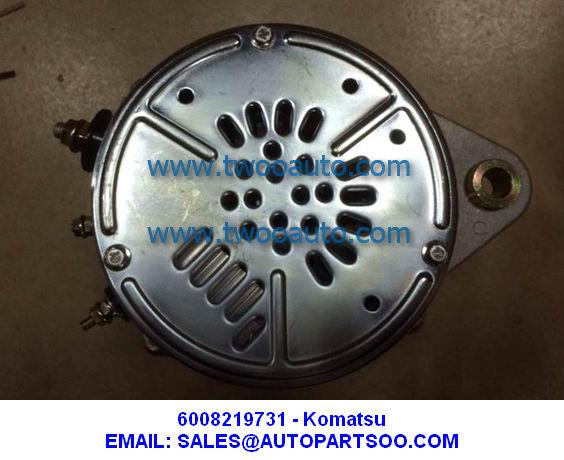 6008219731 - KOMATSU Alternator 24V 75A 600-821-9731
