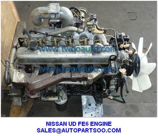 Nissan ud engine fe6 engine used nissan fe6 engine Nissan motor phone number