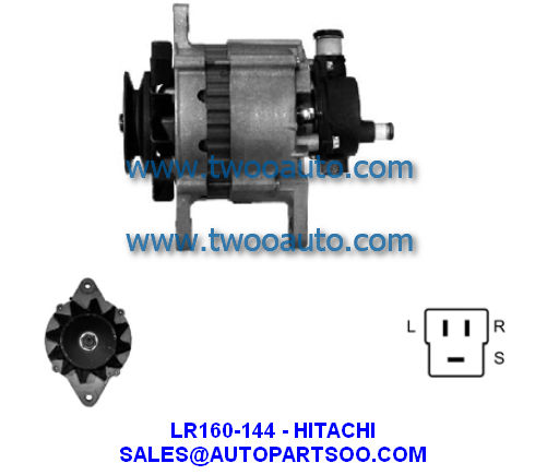 Lr170 506 8971239090 Hitachi Alternator 12v 75a Alternadores